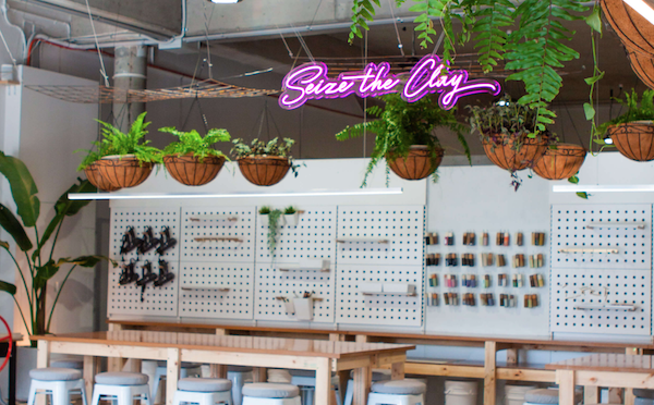 Play with clay at Sydney's newest eco pottery studio, Clayground  Image