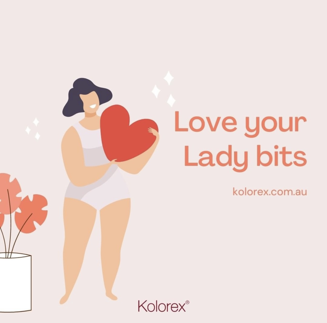 Join the movement to #LoveYourLadyBits!  Image