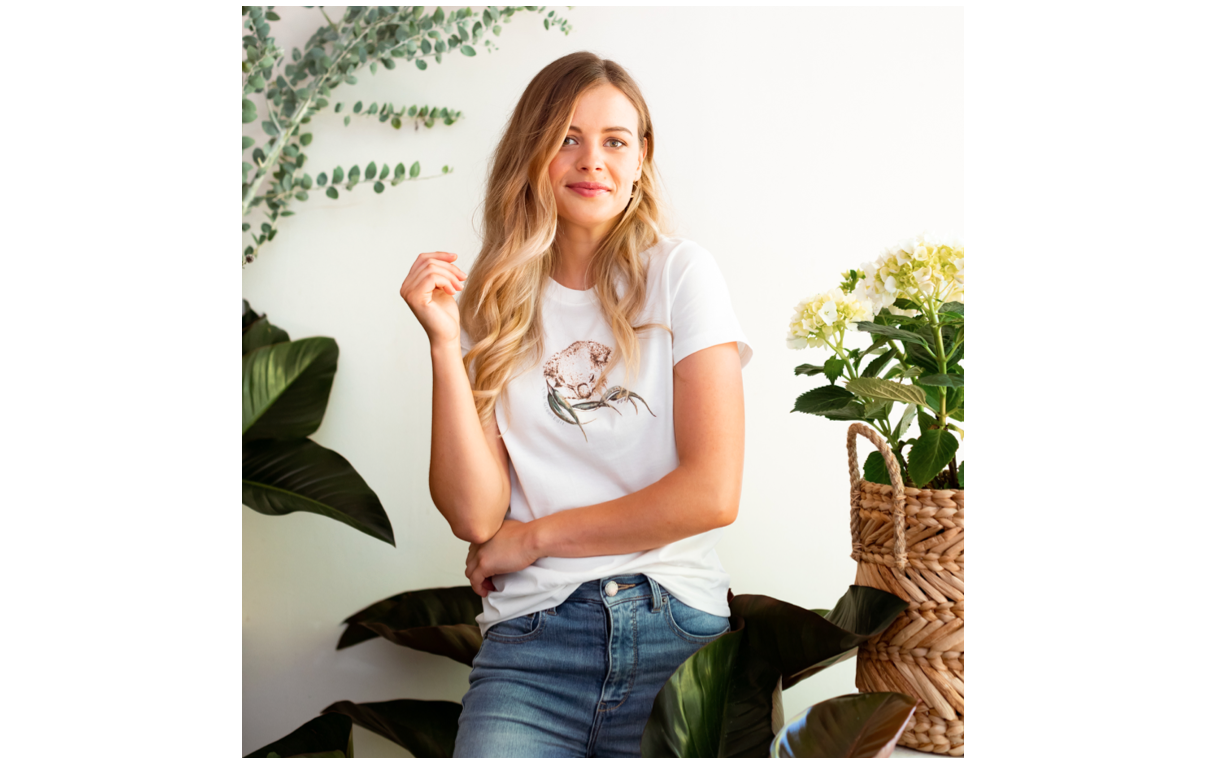 The Green Edit collaborates with Indigenous designer and artist to release Charity Koala Tee Image