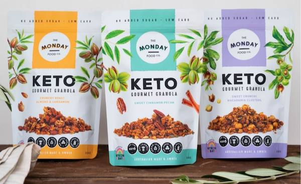 The Monday Food Co welcome new Keto granola range Image
