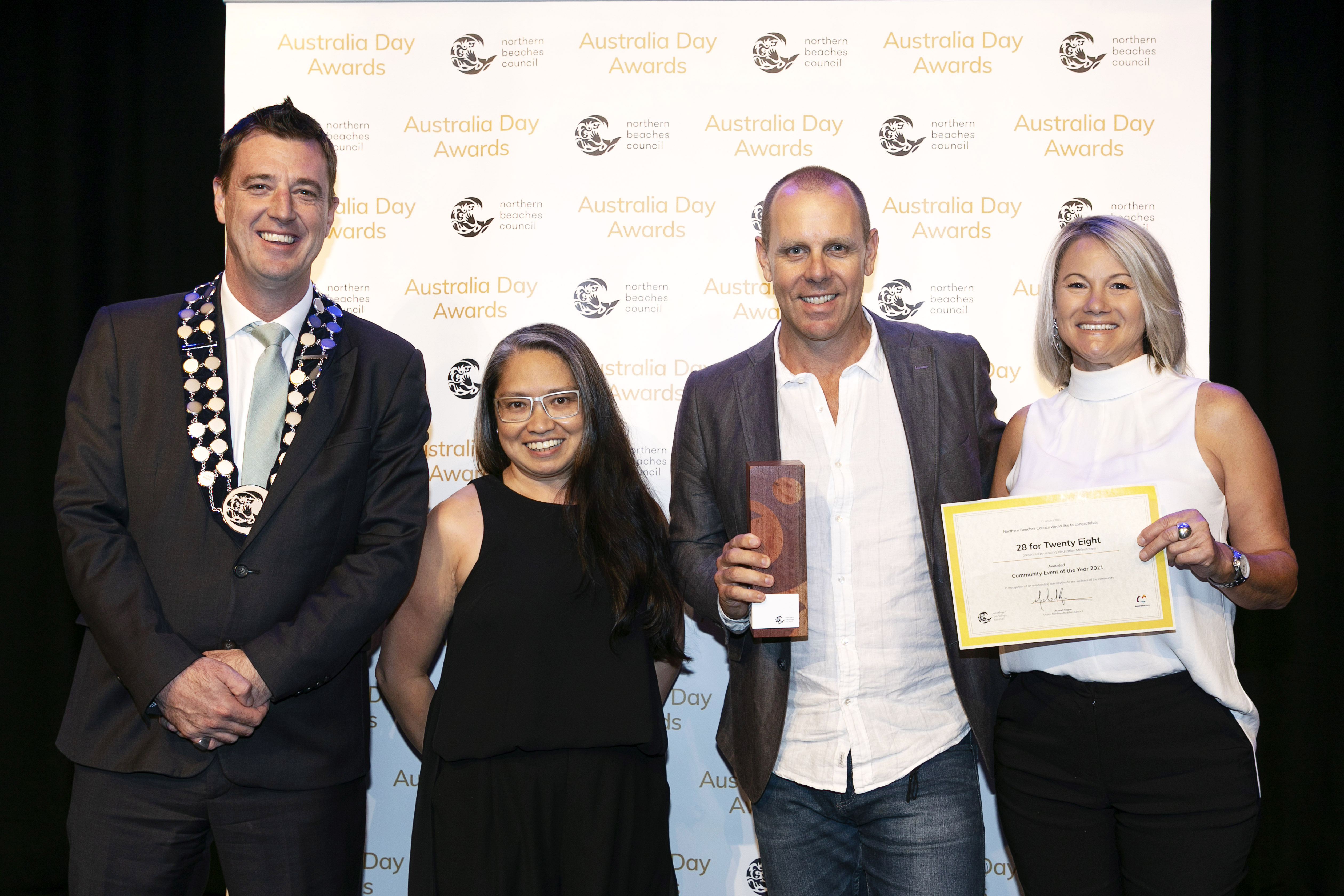 MAKING MEDITATION MAINSTREAM WINS AUSTRALIA DAY - 'COMMUNITY EVENT OF THE YEAR 2021' Image